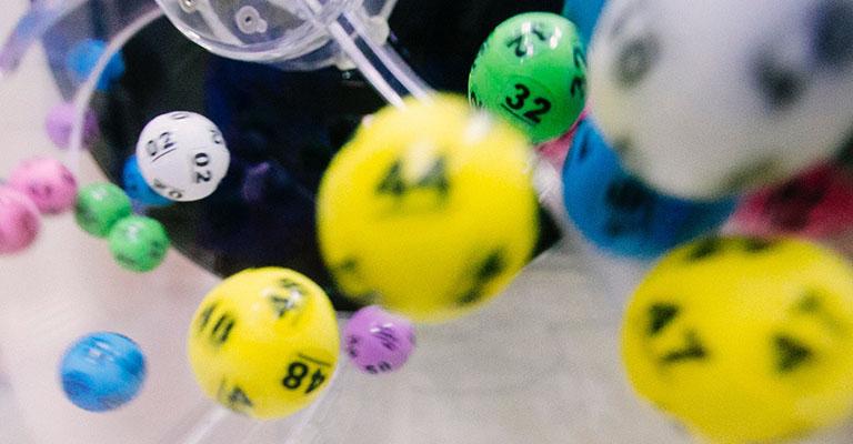 Ball machine lotto